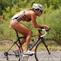 Una triatleta libre de gluten