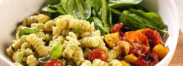 Ensalada de pastas con Verduras