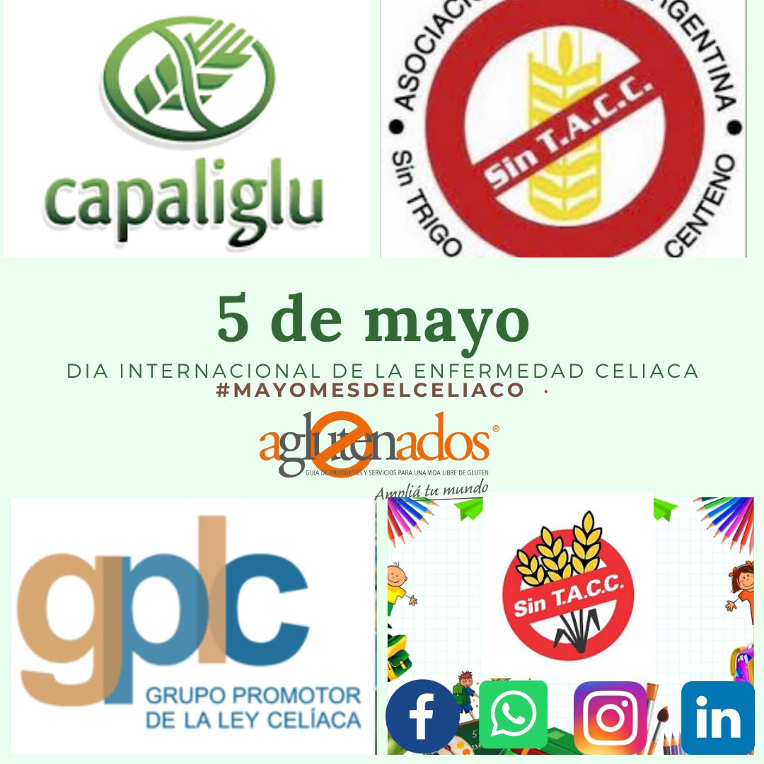 5 DE MAYO.  DIA INTERNACIONAL DE LA ENFERMEDAD CELIACA