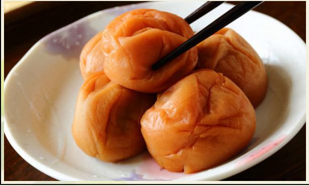 LAS CIRUELAS UMEBOSHI  Alimento Medicinal de la Cultura Japonesa