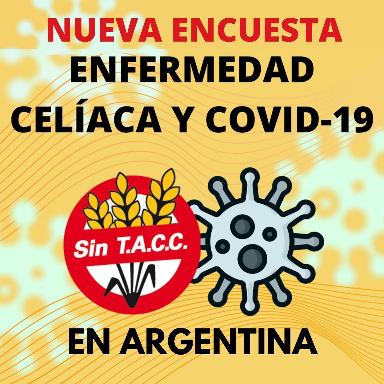 Nueva Encuesta  Enfermedad Celíaca y COVID-19 en Argentina  Para celíacos y NO celíacos