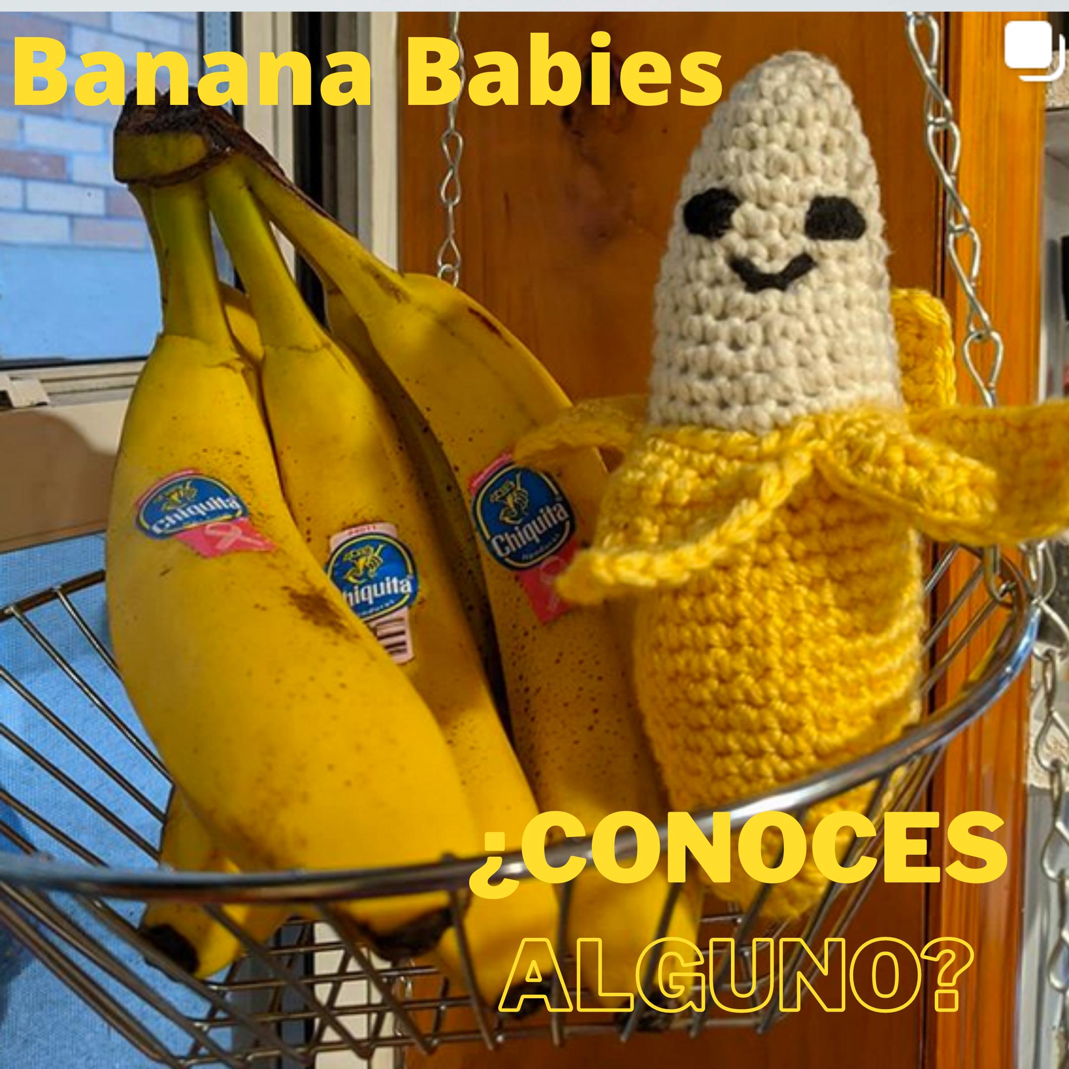 Banana Babies: ¿conocés alguno?